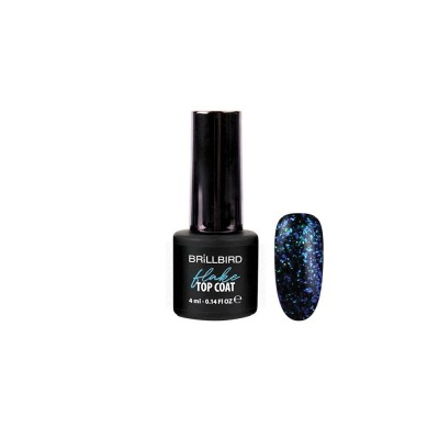 Top coat flake BLEU