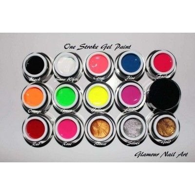 Gel paint couleur one stroke