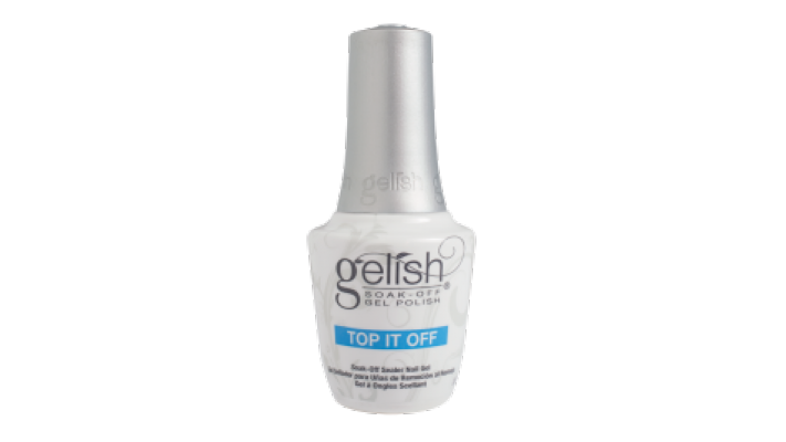 Polygel Top Coat UV Brillant top it gelish  15mL