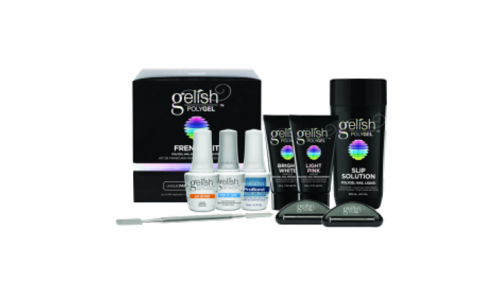 Polygel French kit gelish