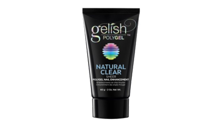 PolyGel Natural Clear Sheer gelish  - 60g