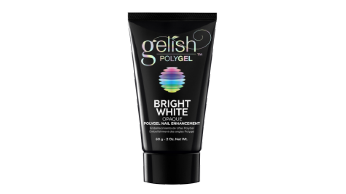 PolyGel Bright White Opaque gelish  - 60g